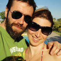 Alberto Riccioni e Emanuela Verani