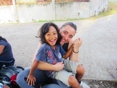volontariato-filippine-Anna-isla