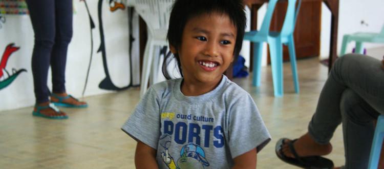 Il sorriso del piccolo Ivan
