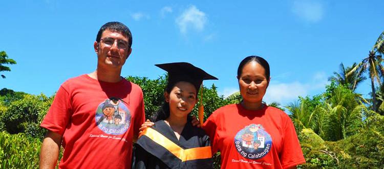 Katherine si è laureata