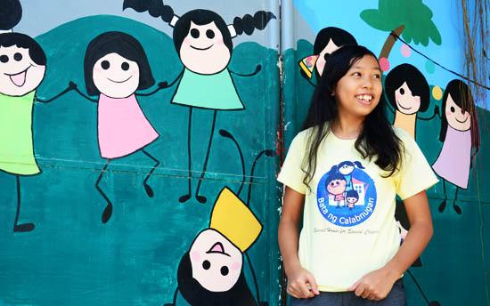 Volunteering in the Philippines at Bata ng Calabnugan