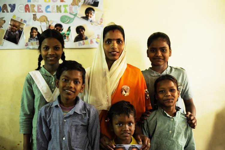 Meenu - volontariato-in-india