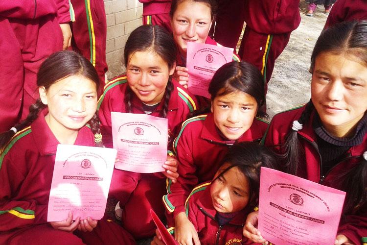Diritto allo studio per le bambine del Ladakh