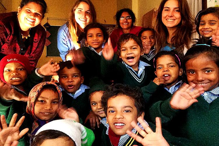 volontariato-India-Michela