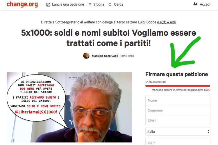 petizione-cinque-per-mille