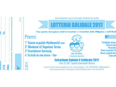 Lotteria solidale 2017