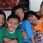 Norma e le bambine della Casa Famiglia_Ph Gianni Iorio