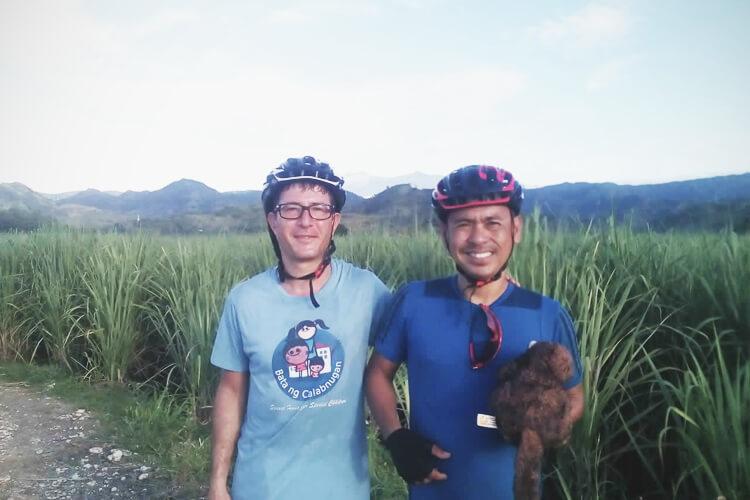 Francesco ed Edward al confine tra il Negros Occidentale e il Negros Orientale-2