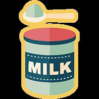 Dona latte in polvere alla Casa Famiglia di Isla
